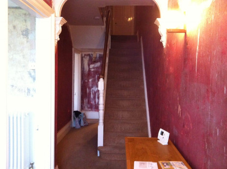 Sharnbrook Stairs BEFORE