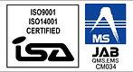 ISA&JABマーク ISO9001&ISO14001【ウェブ用 MSカラー】2