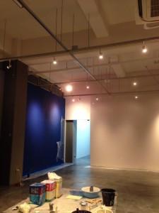 新教室の塗装完了しました!