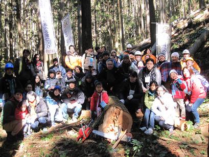 伐採体験ツアー「与作ツアー」を行いました!