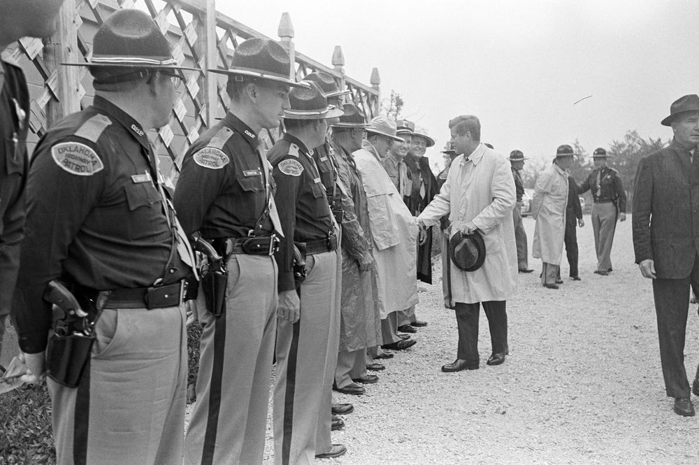 JFK & RSK Ranch 1962 State Troopers