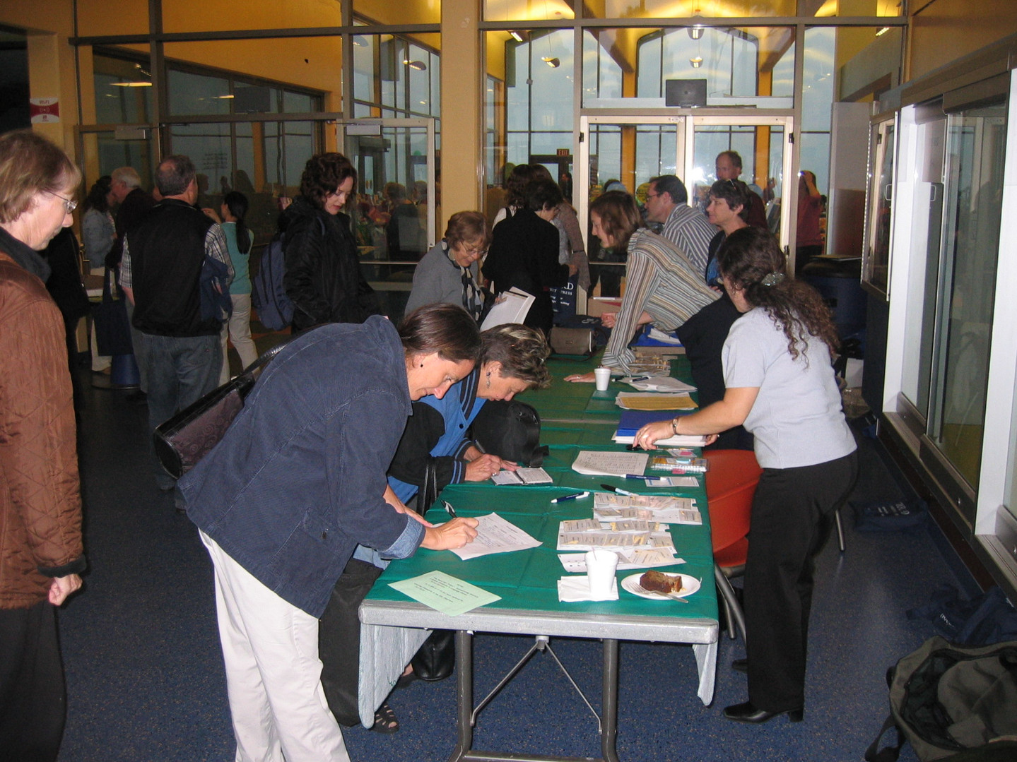 Registration Tables