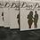 Thumbnail: 4 personalized 4x4 ceramic coasters