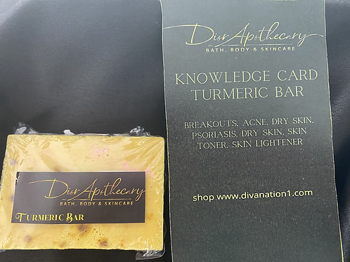 Unisex Turmeric Bar