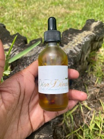 Rose Scalp Healing Hair Oil