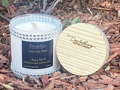Rhinestone Cotton Candy Paradise Candle
