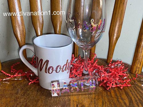 Moody Sassy & Nasty Glass Set