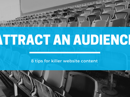 8 Tips for Creating Killer Website Content
