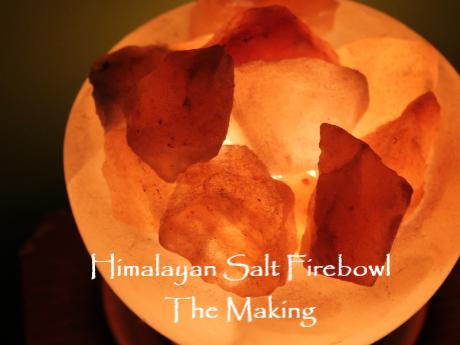 Himalayan Salt Firebowl