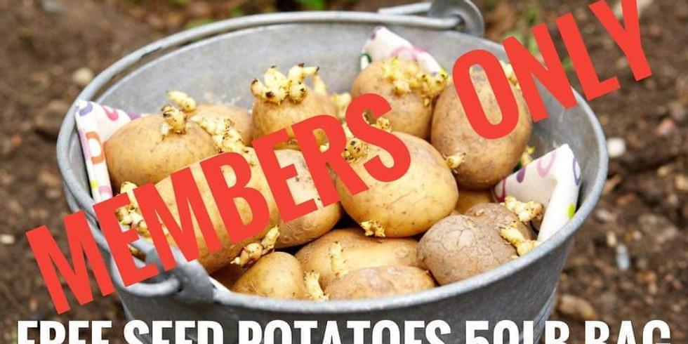 Seed potatoes MEMBERSHIP ONLY