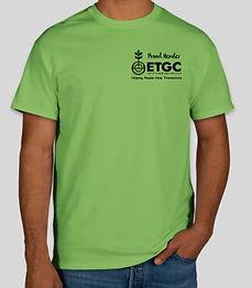 ETGC T-Shirt $15each-Print12-100%cotton.