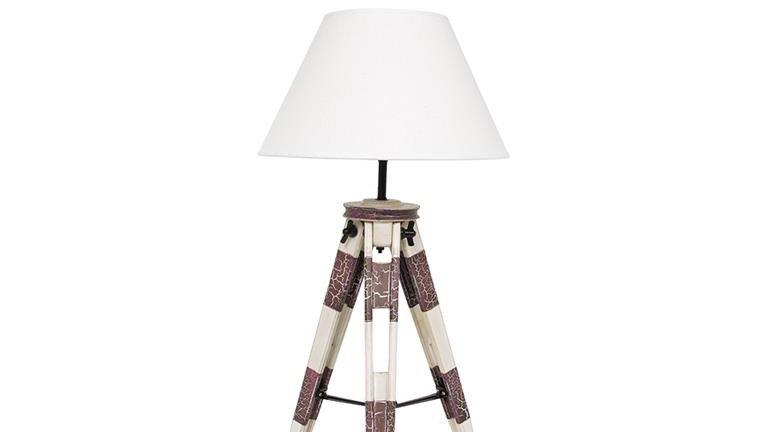 NAUTICAL TRIPOD LAMP 150cm Tall