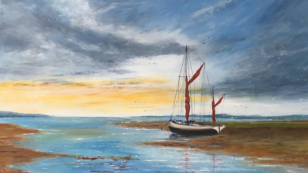 DAYBREAK Original Oil on canvas Artist Monty