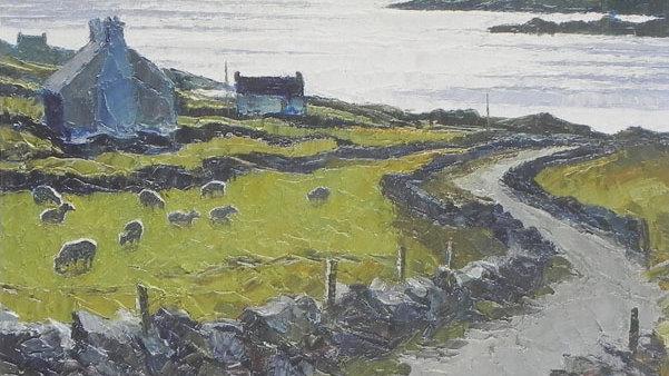 The Lane to Dingle Bay, Co Kerry Artist: Alan Cotton