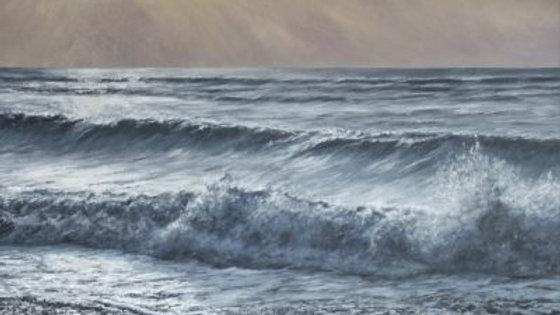 ON A ROLL Original Acrylic Artist; Sue Lewin