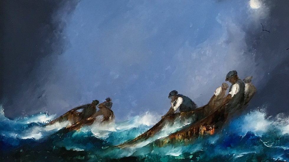 Salmon Fishermen by David Chambers