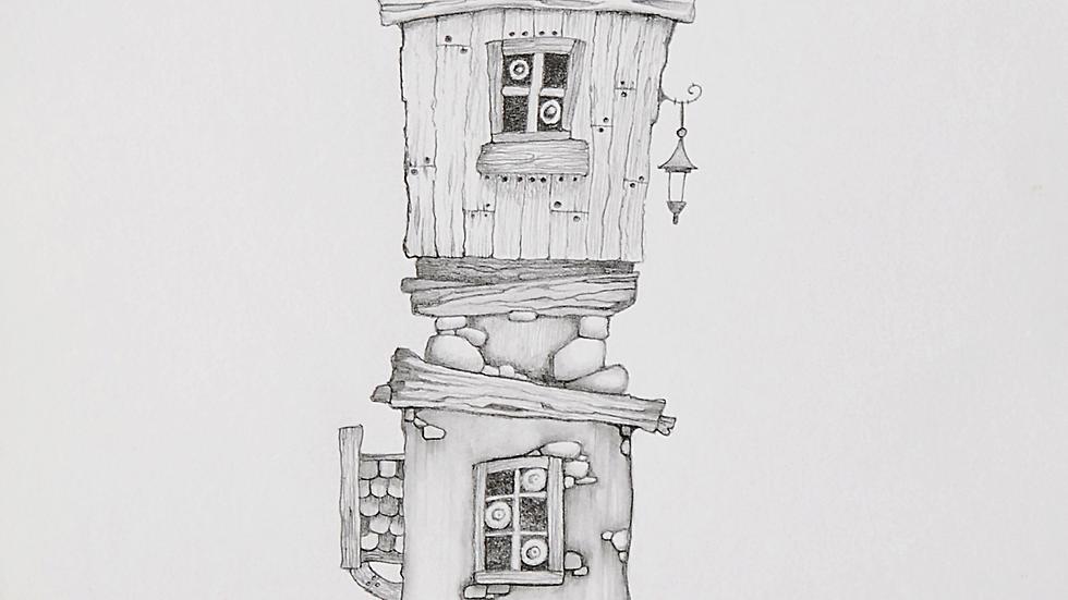 MR SNOOZY Artist: Mike Jackson Original Study in Pencil
