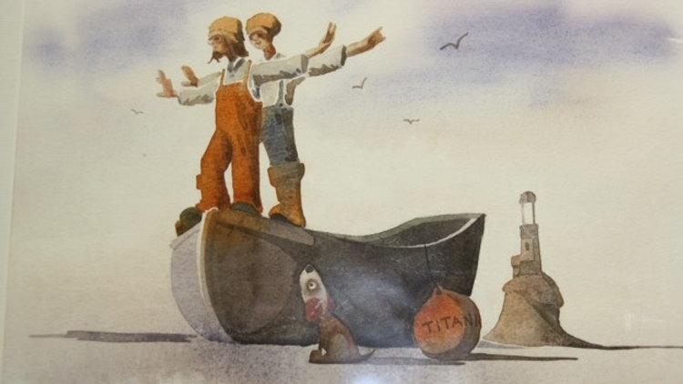TITANIC Artist Mike Jackson Fine Art Giclee Print
