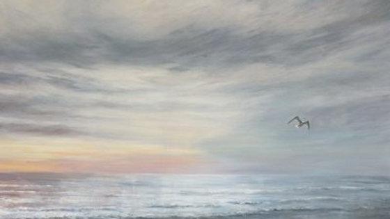 TWIGHLIGHT Original Acrylic Artist Sue Lewin