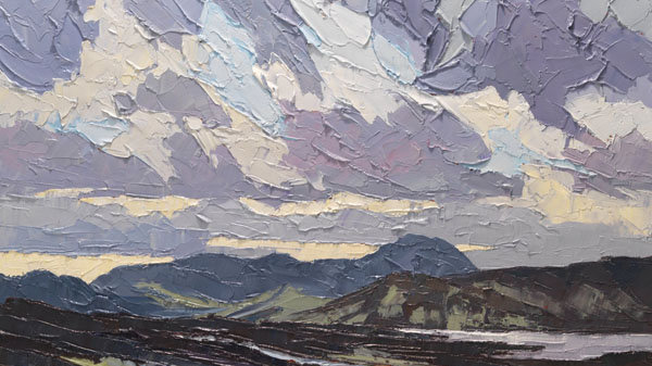 Rolling Clouds over the Moorlands, Donegal Artist: Alan Cotton