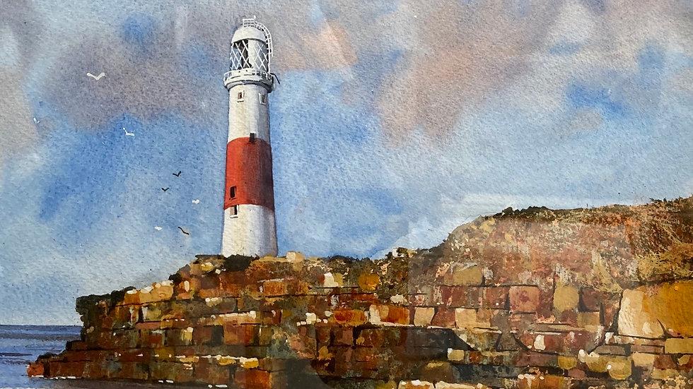 PORTLAND Original Watercolour Artist: Bob Bradshaw