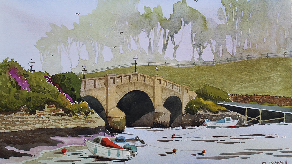 Bridge at Axmouth