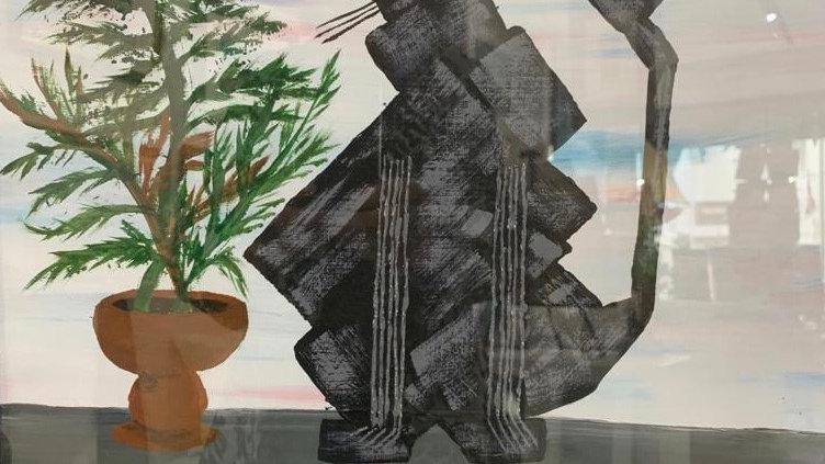 ADORABLE FELINE Original Acrylic Artist: Fiona Lindsay