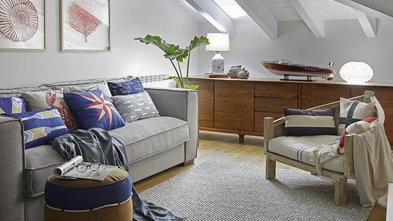 MARITIME  ARMCHAIR including cushions