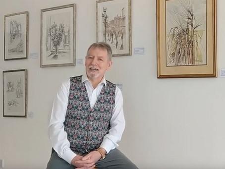 Colin introduces the Alan Cotton Exhibition