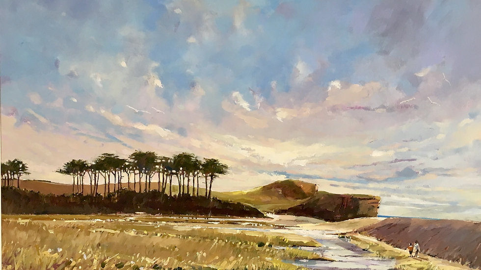 OTTER WALK Artist Barry Seaforth