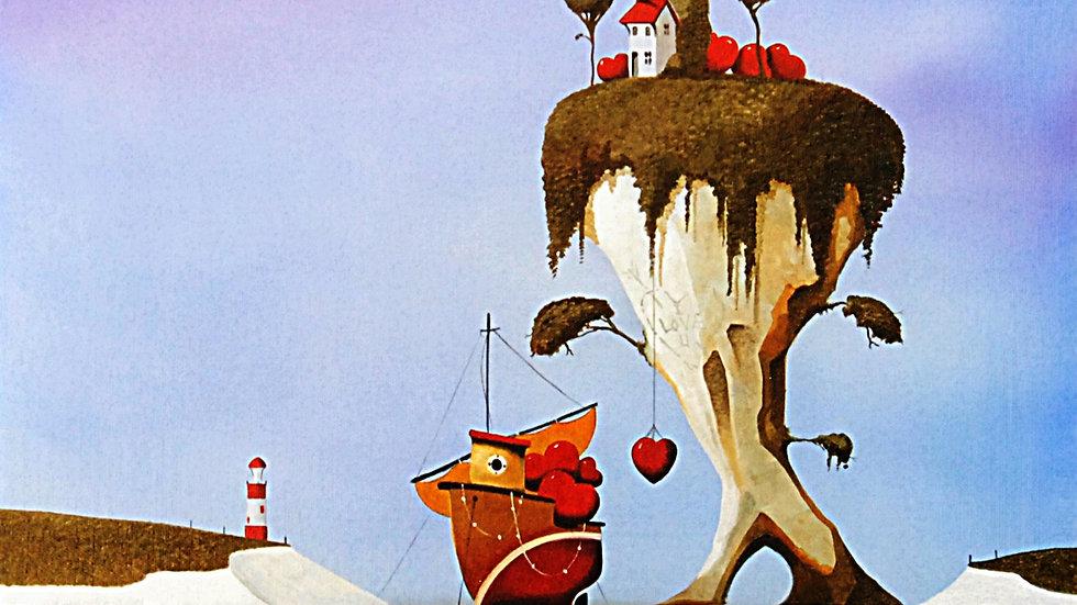LOVE ISLAND Artist Mike Jackson Original