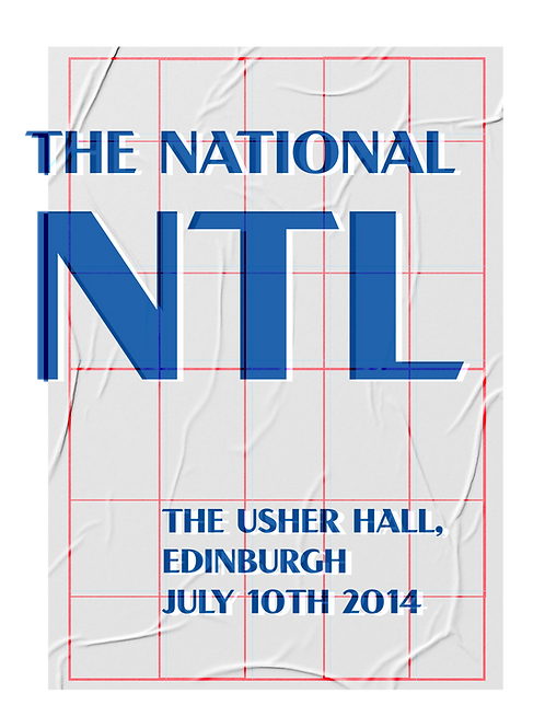 The National - Risograph Print