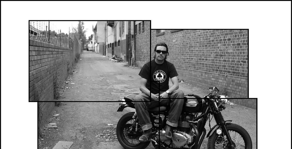 Biker Boyz portrait series.