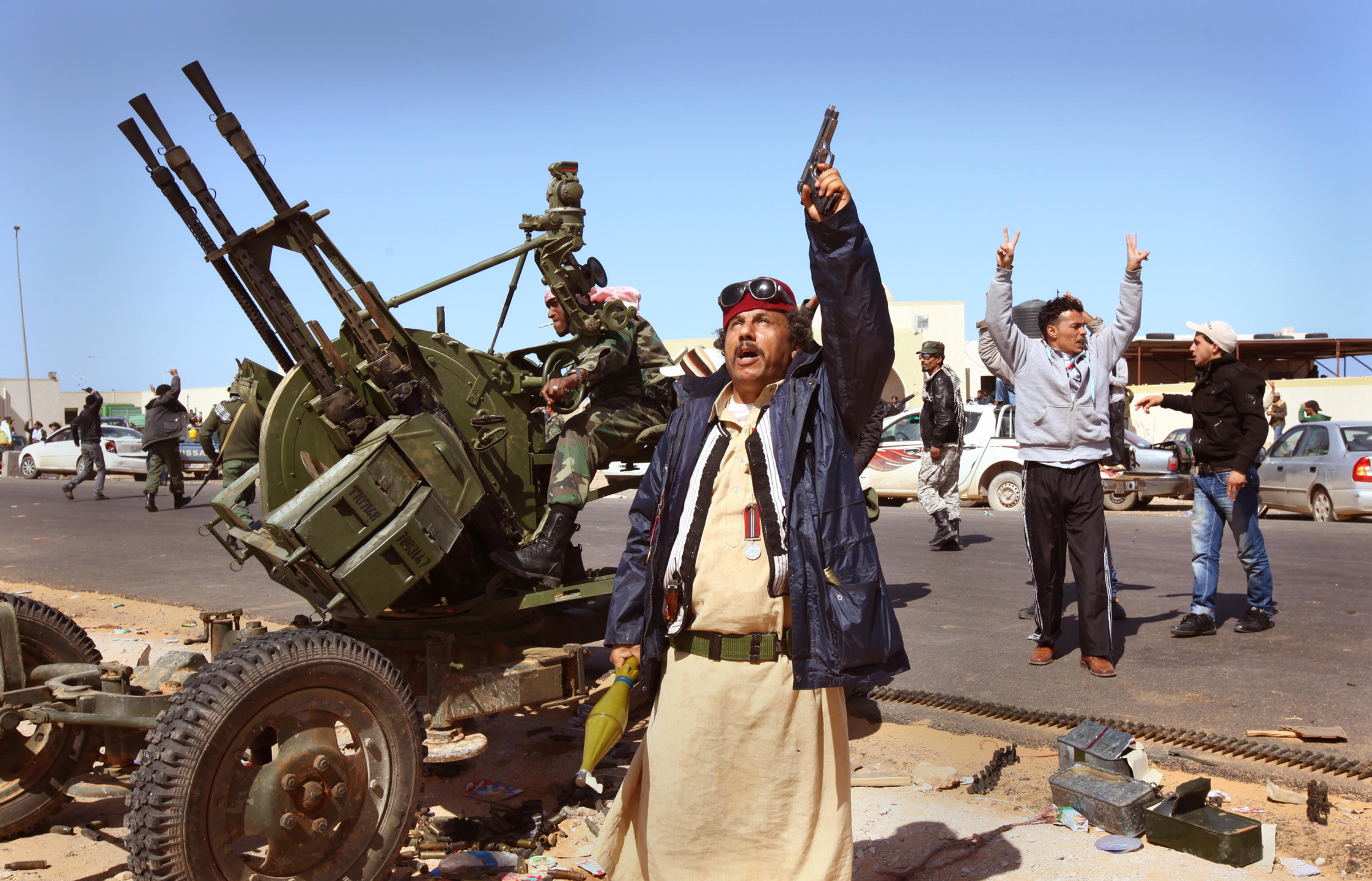 Civil war, Libya.