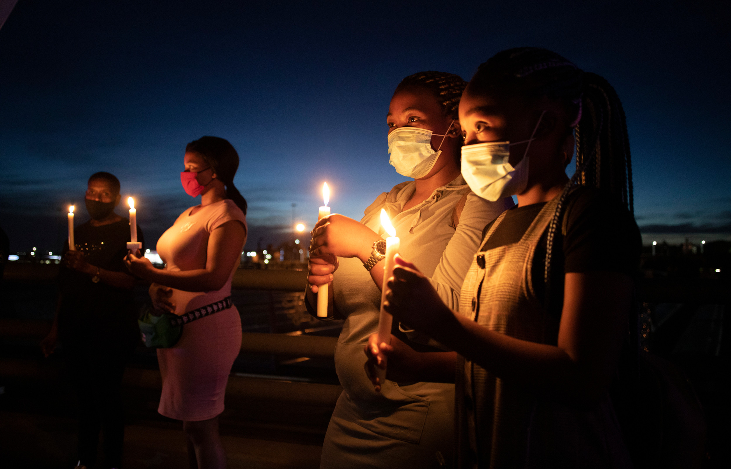 Prayers for the Covid-19 dead, South Africa.