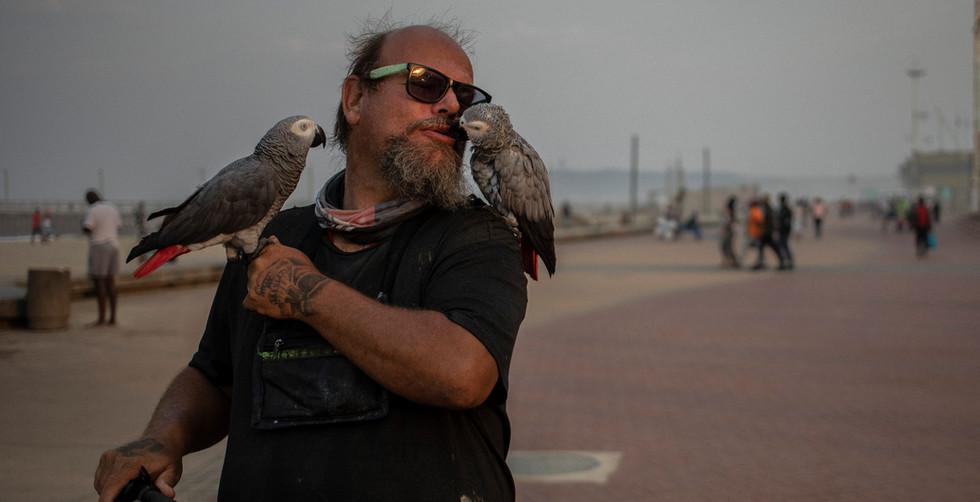 Durban bird man