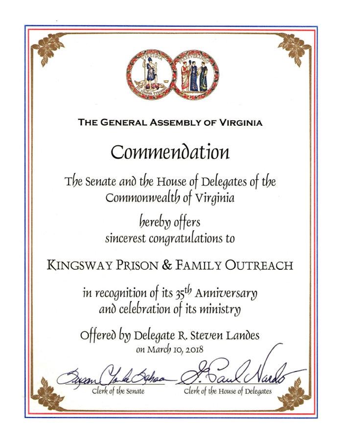 Kingsway Commendation.jpg