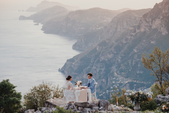 Amalfi Coast Dream Elopement