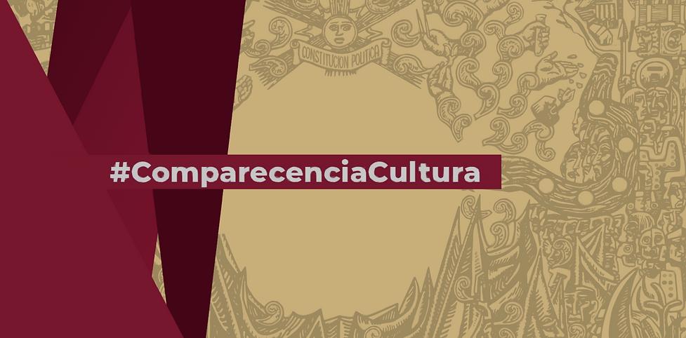 Comparecencia Cultura… y otros titulares