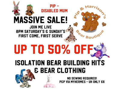 Bear Building @ Home from only £3 - Closing my Little Bear Boutique!
