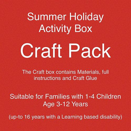 Craft Pack - Summer Holiday Activities