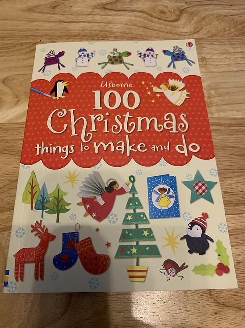 Usborne 100 Christmas things to make and do