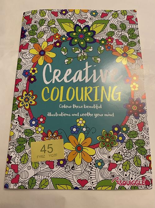 Creative Colouring Book - Y45