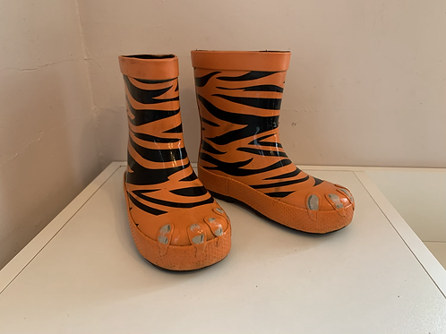 Child size 8 Tiger Wellies