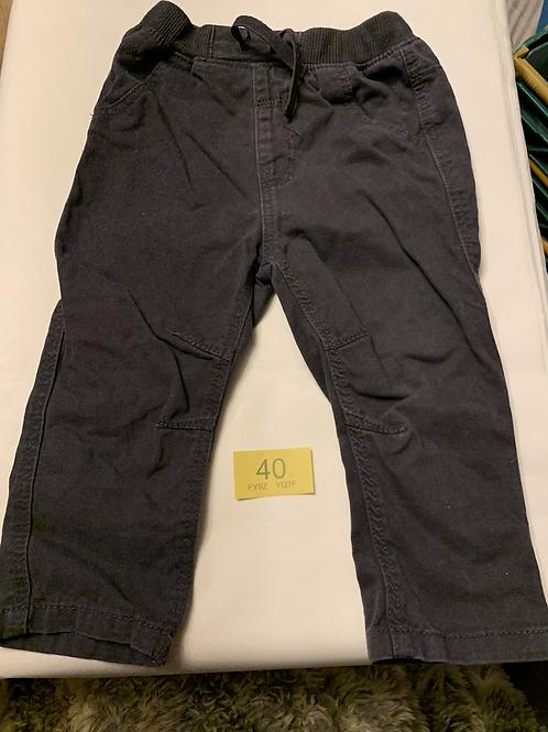 12-18m Dark trousers - Y40