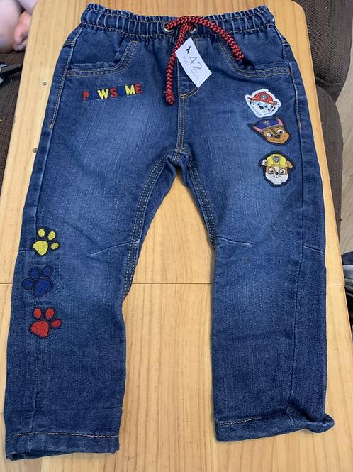 12-18m Paw Patrol Jeans - W42