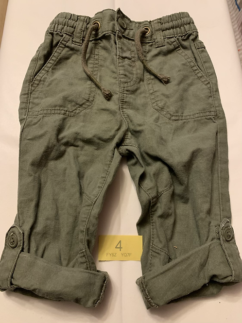 Green Combat Style Trousers - Y4
