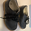 Thumbnail: Comet Heath Black leather Clarks Shoes 7G Preloved