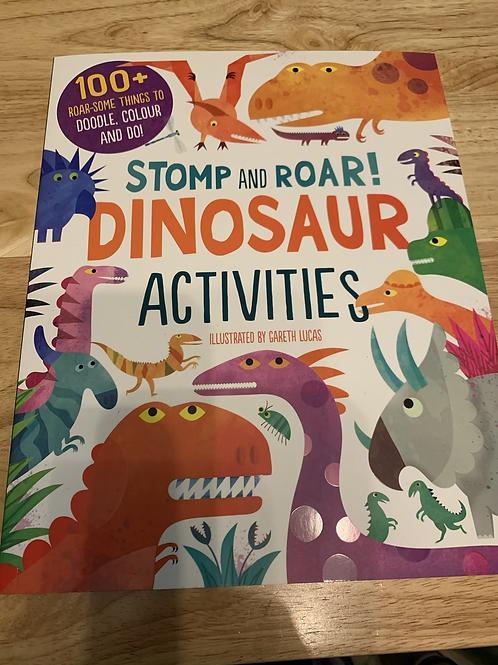 Stomp and Roar Dinosaur Activities Book