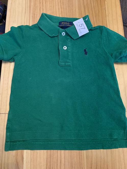 18m Ralph Lauren Green Polo - W57
